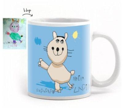 madame pop and kids-mug-dessin-enfant